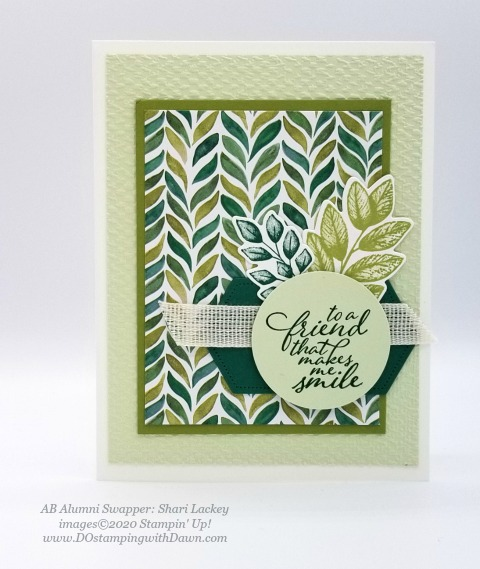 Stampin' Up! Forever Greenery Suite shared by Dawn Olchefske #dostamping #howdshedothat #stampinup #handmade #cardmaking #stamping #papercrafting (Shari Lackey)