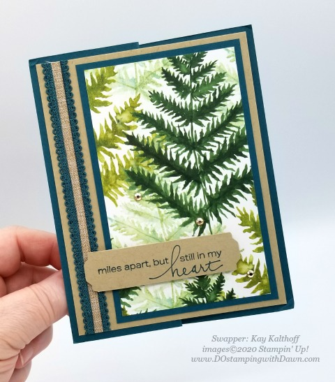 Stampin' Up! Forever Greenery Suite shared by Dawn Olchefske #dostamping #howdshedothat #stampinup #handmade #cardmaking #stamping #papercrafting (Kay Kalthoff)