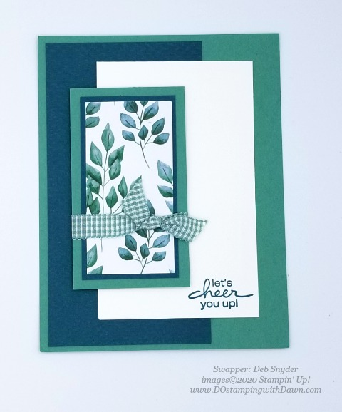 Stampin' Up! Forever Greenery Suite shared by Dawn Olchefske #dostamping #howdshedothat #stampinup #handmade #cardmaking #stamping #papercrafting (Deb Snyder)