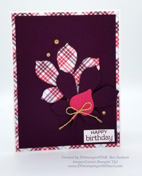 Stampin' Up! birthday cards shared by Dawn Olchefske #dostamping #howdshedothat #stampinup #handmade #cardmaking #stamping #papercrafting (Bev Jackson)