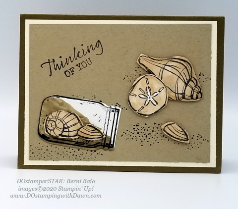 Stampin' Up! Seaside Notions shared by Dawn Olchefske #dostamping #howdshedothat #stampinup #handmade #cardmaking #stamping #papercrafting (Berni Baio)