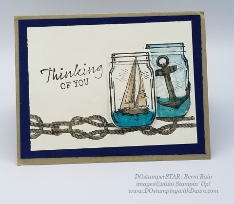 Stampin' Up! Sailing Home stamp set shared by Dawn Olchefske #dostamping #stampinup #handmade #cardmaking #stamping #papercrafting (Berni Baio)