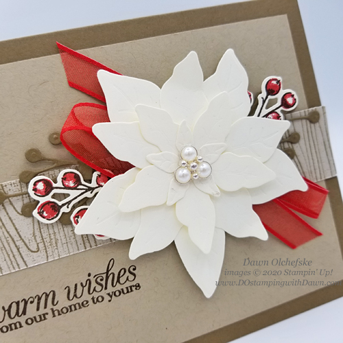 Poinsettia Petals Bundle card by Dawn Olchefske #dostamping #howdshedothat #stampinup #handmade #stamping #papercrafting  #YCC117 #YourCreativeConnection