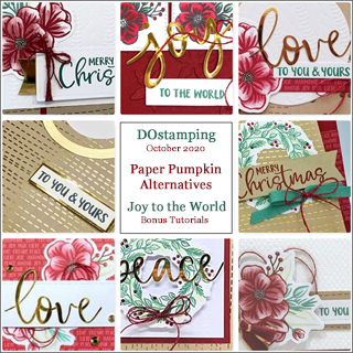 Joy to the World October 2020 Paper Pumpkin with DOstamping to receive a free alternate ideas tutorial PDF bonus each month.  Subscribe with Dawn Olchefske here: https://www.paperpumpkin.com/en-us/sign-up/?demoid=61500  #paperpumpkin #dostamping #stampinup #alternativeideas