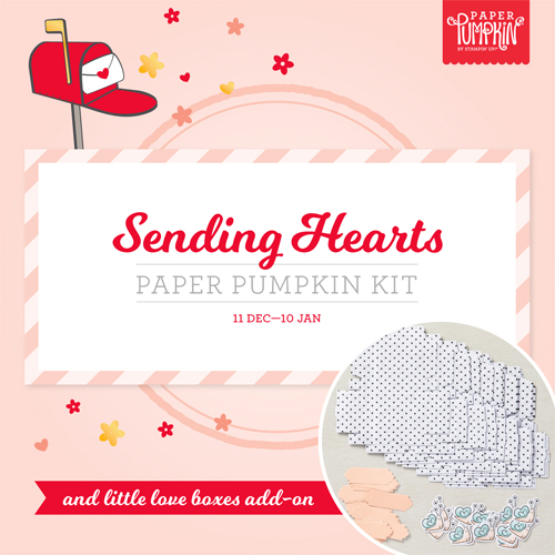 Paper Pumpkin January 2021-Sending Hearts Sneak Peek subscribe with Dawn Olchefske by Jan 10th #paperpumpkin #dostamping #stampsinthemail-2