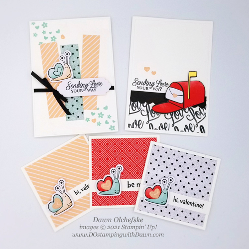 Paper Pumpkin Sending Hearts Jan 2021 Valentine's Day card ideas #dostamping #howdSheDOthat #cardkits