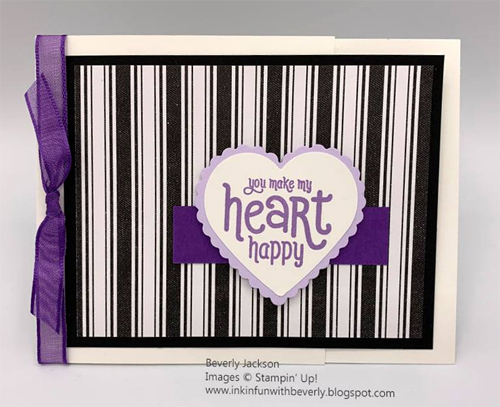 Sale-a-Bration Punch Party card shared by Dawn Olchefske made by DOstamperSTAR Beverly Jackson #dostamping #stampinup #valentinesdaycards-1