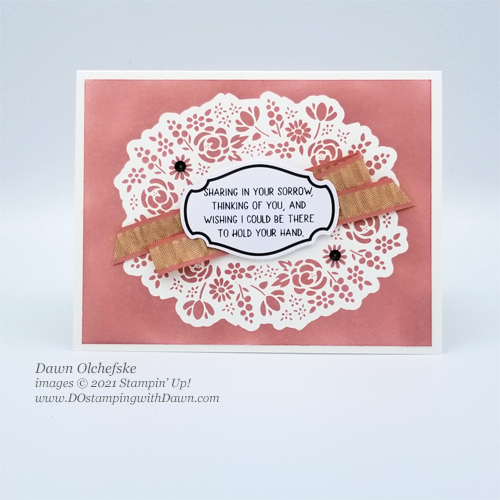 Paper Pumpkin Bouquet of Hope February 2019 kit alternate ideas from Dawn Olchefske #dostamping #cardkits #howdSheDOthat