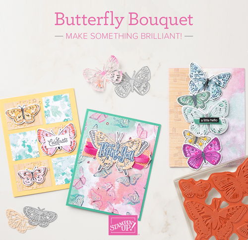 Stampin' Up! Butterfly Bouquet Special shared by Dawn Olchefske #dostamping #howdSheDOthat