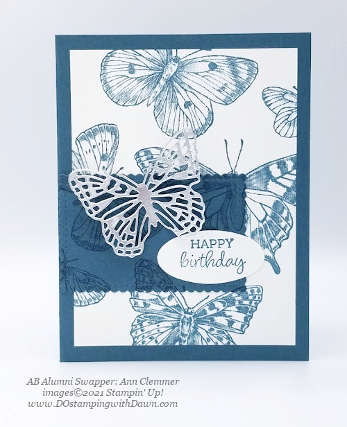 Stampin' Up! Butterfly Brilliance Bundle swap cards shared by Dawn Olchefske  (Ann Clemmer)