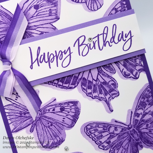 Stampin' Up! Butterfly Brilliance Bundle card by Dawn Olchefske for DOstamperSTARS-#DOswts359 #dostamping #HowdSheDOthat #papercrafting-C
