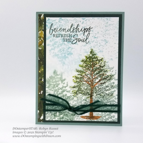 Stampin' Up! New In Color swap cards shared by Dawn Olchefske #dostamping #BeautyofFriendship #dostamperSTARS(Robyn Rasset)