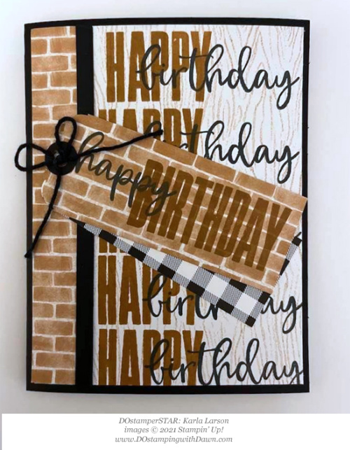 Stampin' Up! Bloom Where You're Planted Biggest Wish  card shared by Dawn Olchefske #dostamping #olympics (DOstamperSTAR Karla Larson) (1)