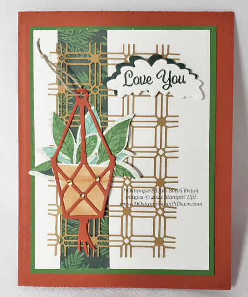 Stampin' Up! Bloom Where You're Planted Suite card shared by Dawn Olchefske #dostamping (DOstamperSTAR Shari Braun)