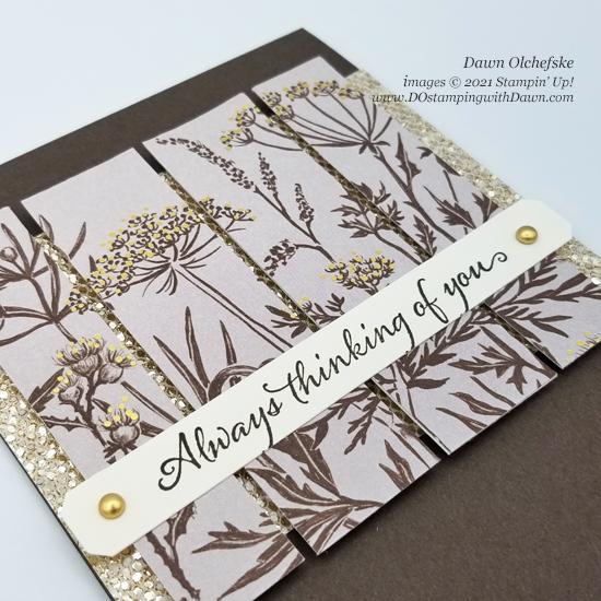 Stampin' Up! Blackberry Beauty Specialty Designer Series Paper card by Dawn Olchefske #dostamping #HowdSheDOthat #DOswts368 #DOstamperSTARS-cu