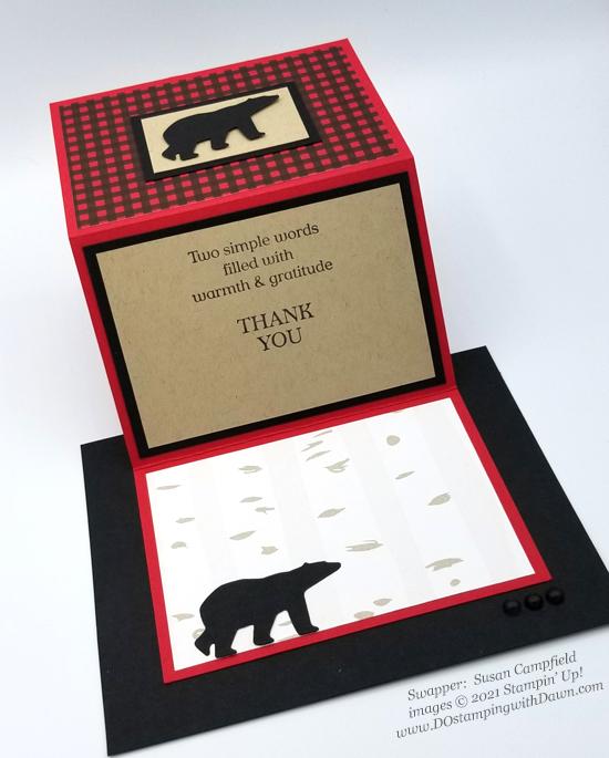 FREE Sale-a-Bration Peaceful Prints Designer Series Paper swap cards shared by Dawn Olchefske #dostamping #stampinup (Susan Campfield)