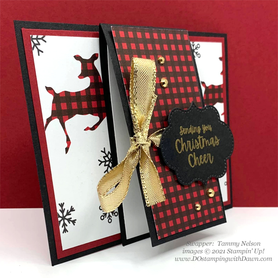 FREE Sale-a-Bration Peaceful Prints Designer Series Paper swap cards shared by Dawn Olchefske #dostamping #stampinup (Tammy Nelson)