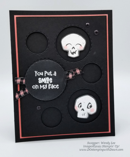 Stampin' Up! Cute Halloween Suite swap cards shared by Dawn Olchefske #dostamping #stampinup (Wendy Lee) (1)