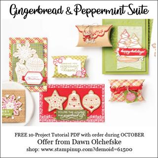 DOstamping OCTOBER 2021 order BONUS-FREE Gingergread & Peppermint Suite 10-Project Tutorial PDF Shop with Dawn Olchefske #dostamping-#cardmaking-#stampinup 320
