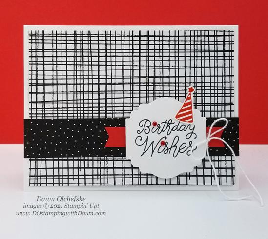 Stampin' Up! Little Delights birthday card by Dawn Olchefske #dostamping #HowdSheDOthat #stampinup #cardmaking