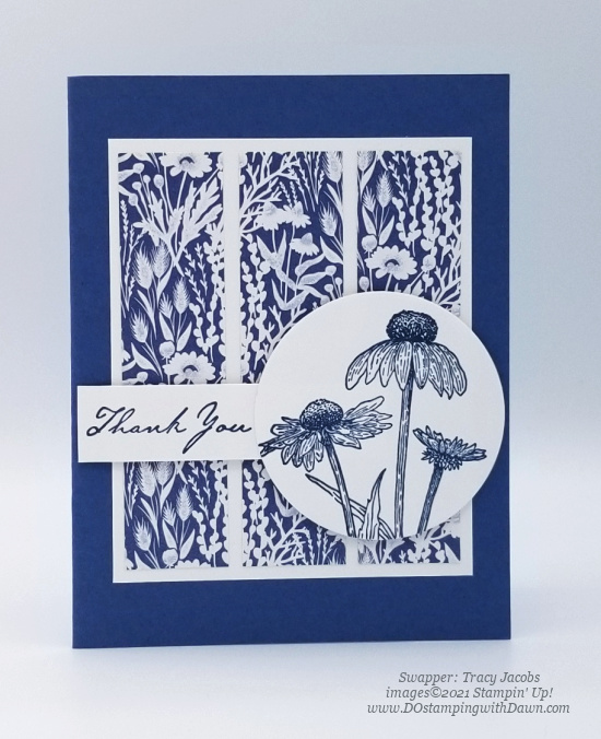 Stampin' Up! Harvest Meadow Suite swap cards shared by Dawn Olchefske #dostamping #stampinup (Tracy Jacobs)