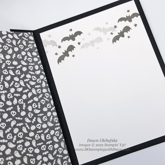 Stampin' Up! Little Delights & Cute Halloween cards by Dawn Olchefske #dostamping #HowdSheDOthat #stampinup #cardmaking #quickandcute 5