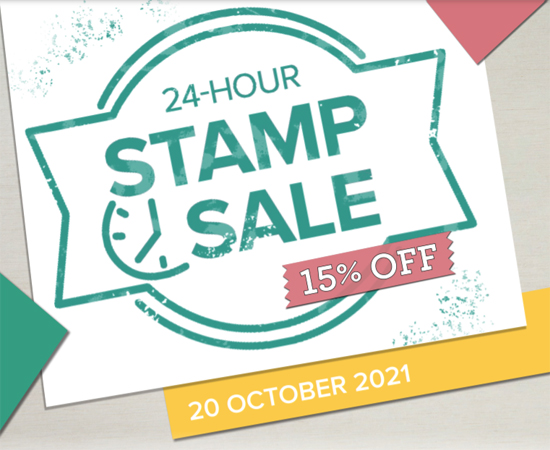 Stampin' Up! 24 hour sale October 20 15 percent off Cling Stamps shop and save with Dawn Olchefske www.stampinup.comdemoid=61500