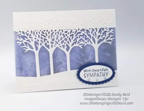 Stampin' Up! Inspired Thoughts Bundle swap cards shared by Dawn Olchefske #dostamping #inspiredthoughts (DOstamperSTAR Sandy Reid)