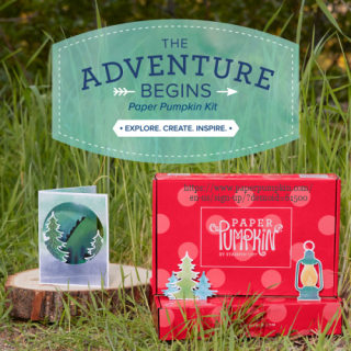 Paper Pumpkin The Adventure Begins July 2021 kit subscribe by July 10 with Dawn Olchefske #dostamping #craftkitinthemail