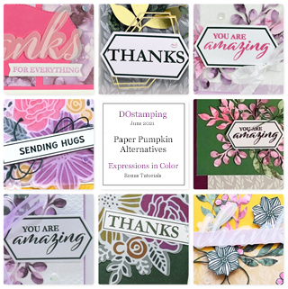 Expressions In Color Paper-Pumpkin Alternative Bonus Tutorial -from Dawn Olchefske #dostamping #howdSheDOthat #paperpumpkin