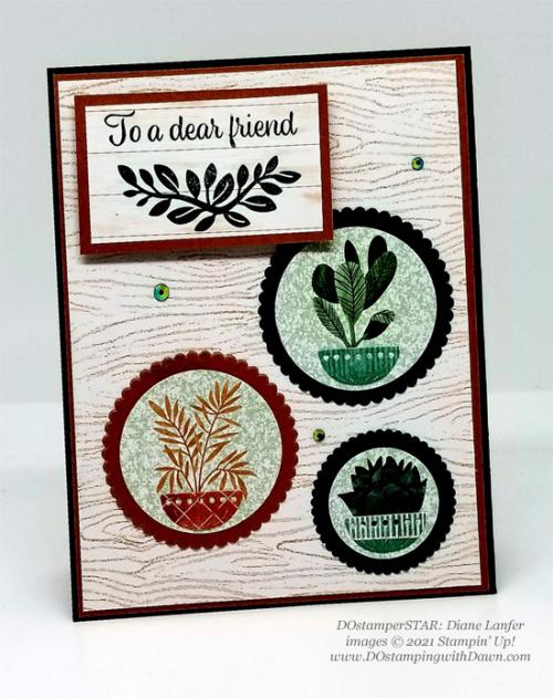 Stampin' Up! Bloom Where You're Planted Suite card shared by Dawn Olchefske #dostamping #olympics (DOstamperSTAR Diane Lanfer) (1)