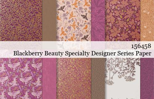 156458-Blackberry Beauty Designer Series Paper shared by Dawn Olchefske #dostamping #stampinup #handmade #cardmaking #stamping #papercrafting