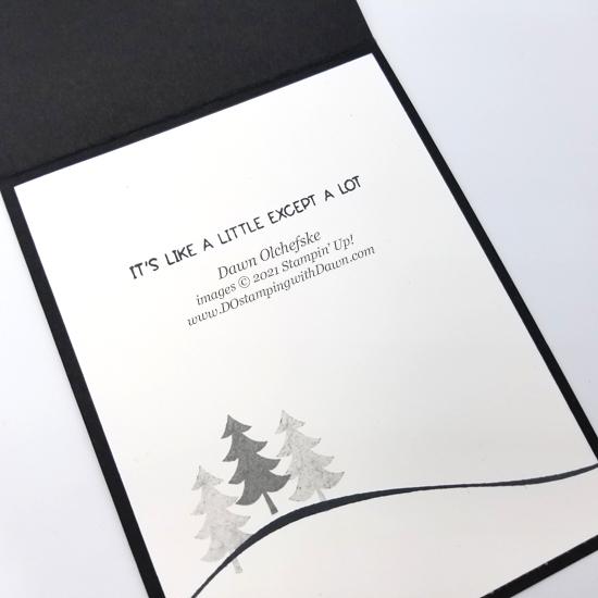 Penguin Place Bundle card by Dawn Olchefske   #dostamping #HowdSheDOthat #stampinup #penguinpunch #stampinup-pi