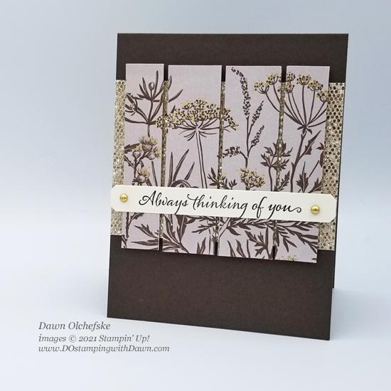 Stampin' Up! Blackberry Beauty Specialty Designer Series Paper card by Dawn Olchefske #dostamping #HowdSheDOthat #DOswts368 #DOstamperSTARS