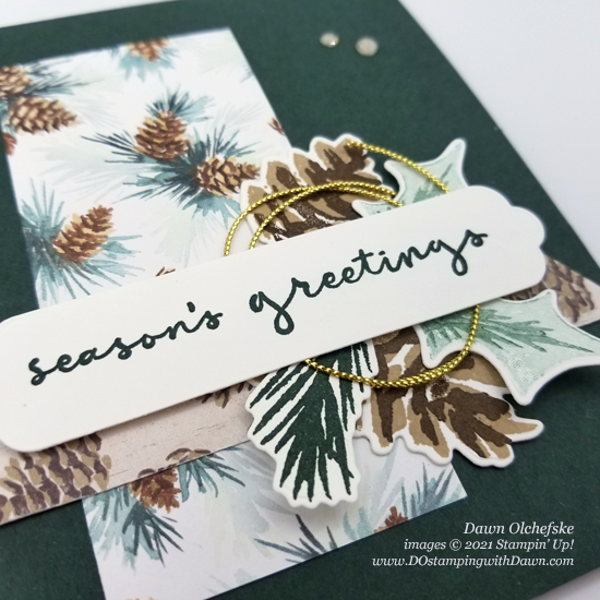 Stampin' Up! Painted Christmas Suite card by Dawn Olchefske #dostamping #HowdSheDOthat #DOswts368 #DOstamperSTARS