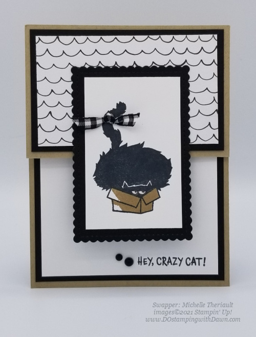 Stampin' Up! Clever Cats cards shared by Dawn Olchefske #dostamping #halloween (Michelle Theriault)