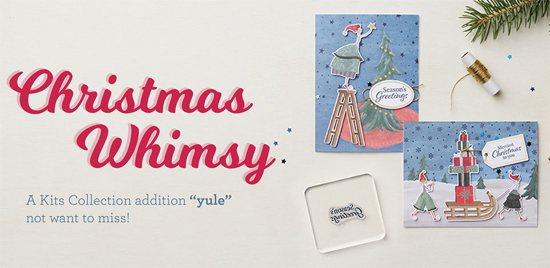 New Kits Collection Release Christmas Whimsy Dawn Olchefske #dostamping #HowdSheDOthat #stampinup