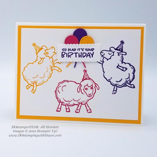 FREE Sale-a-Bration Counting Sheep swap cards shared by Dawn Olchefske #dostamping #stampinup (DOstamperSTAR Jill Hamlett)