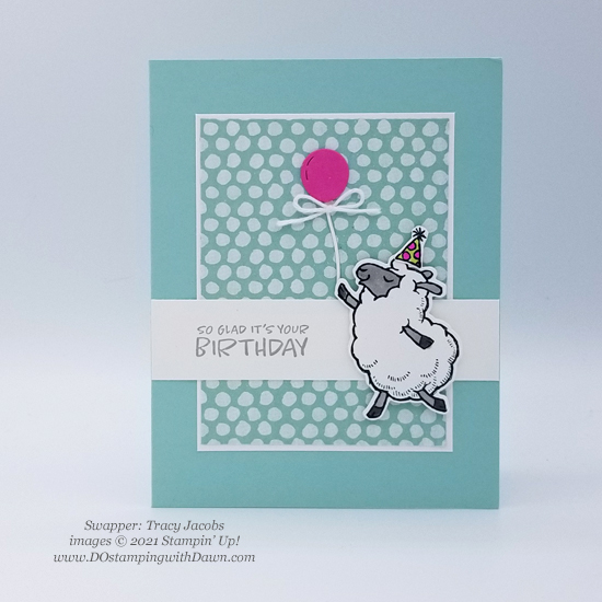 FREE Sale-a-Bration Counting Sheep swap cards shared by Dawn Olchefske #dostamping #stampinup (Tracy Jacobs)