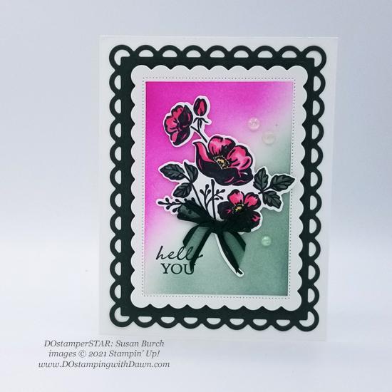 FREE Sale-a-Bration Summer Shadows Dies swap cards shared by Dawn Olchefske #dostamping #stampinup (Susan Burch)