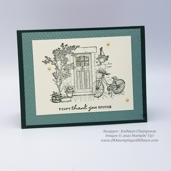 FREE Sale-a-Bration Feels Like Home swap cards shared by Dawn Olchefske #dostamping #stampinup (Kathleen Champman)