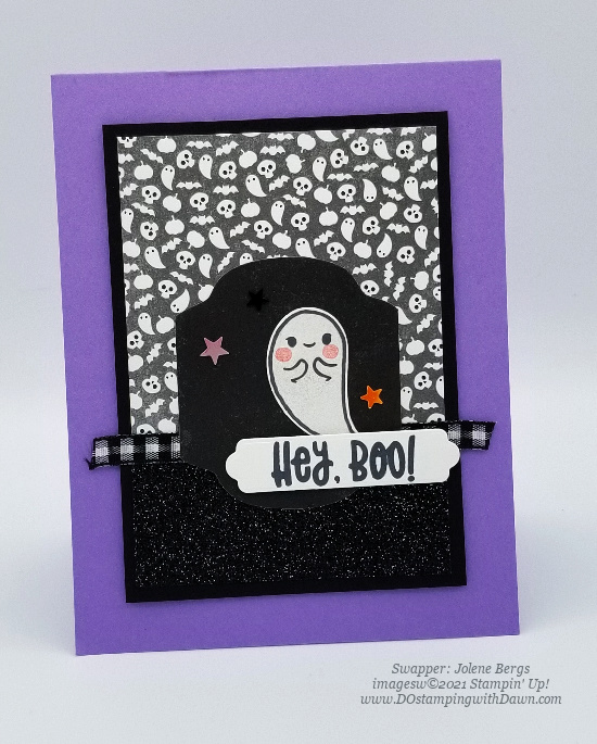 Stampin' Up! Cute Halloween Suite swap cards shared by Dawn Olchefske #dostamping #stampinup (Jolene Bergs) (1)
