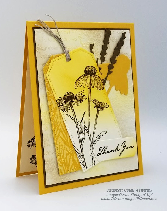 Stampin' Up! Harvest Meadow Suite swap cards shared by Dawn Olchefske #dostamping #stampinup (Cindy Westerink)