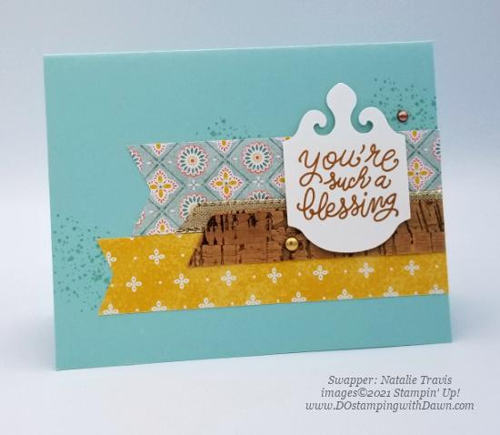 Stampin' Up! Harvest Meadow Suite swap cards shared by Dawn Olchefske #dostamping #stampinup (Natalie Travis)