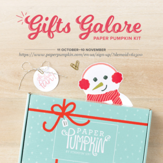 November 2021 Gifts Galore Paper Pumpkin subscribe with Dawn Olchefske #dostamping #stampinup #howdsheDOthat #paperpumpkin